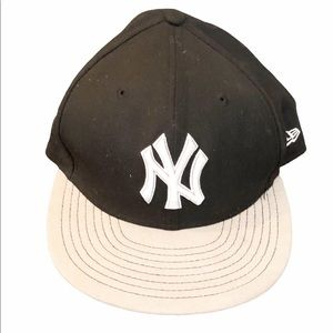NY Yankee NEW ERA 59fifty SKYLINE 7 1/4 hat cap